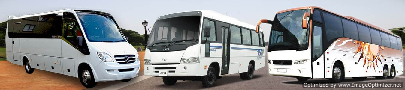 45 seater volvo hire