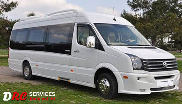 12 seater crafter hire on rent