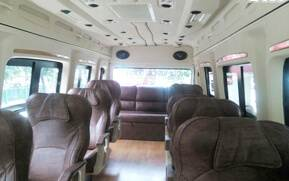12 seater traveller hire