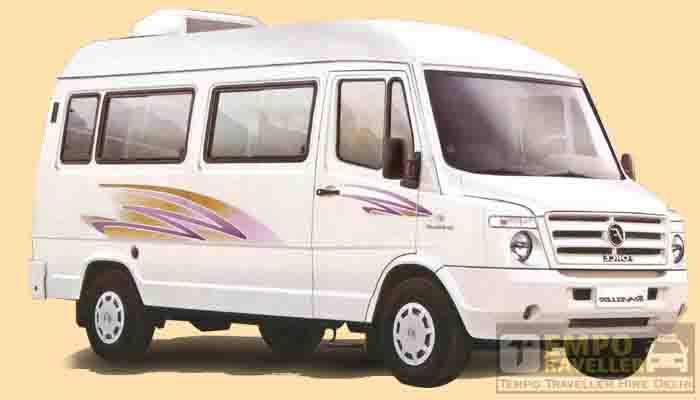 9 seater tempo traveller hire in delhi