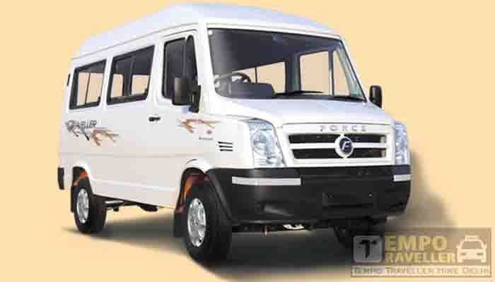 10 seater tempo traveller hire in Gujarat